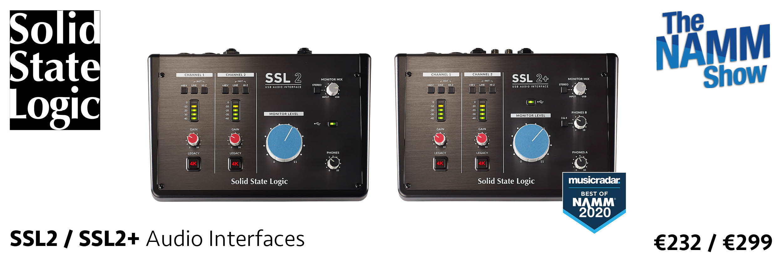Solid State Logic SSL2 / SSL2+
