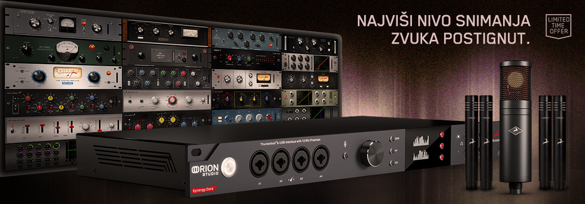 Antelope Audio Orion Studio Synergy Core February Special!