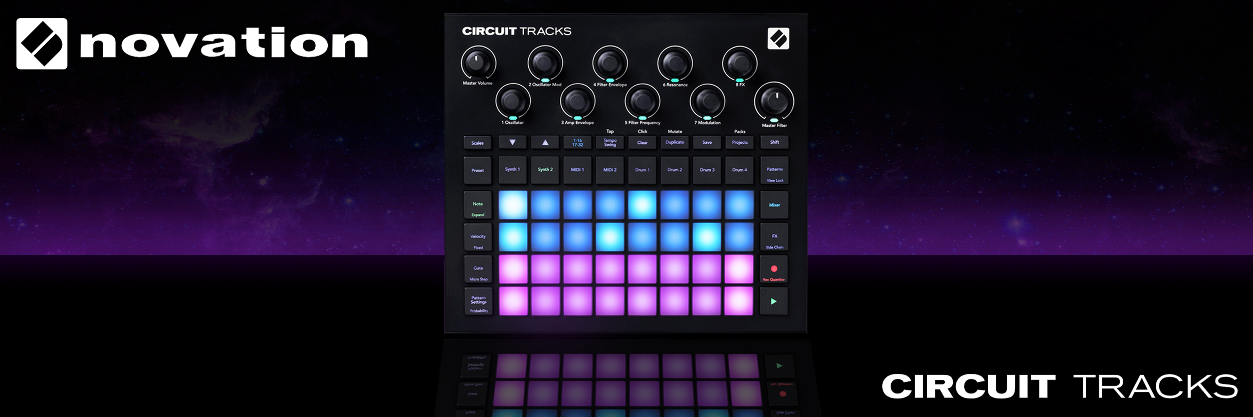 Novation Circuit Tracks | Groovebox
