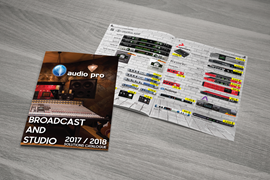 AudioPro Broadcast&Studio Solutions katalog 2018
